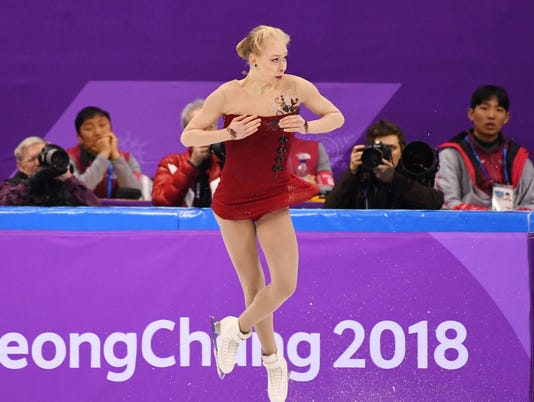 USP OLYMPICS: FIGURE SKATING-TEAM-WOMENS SHORT PRO S OLY KOR