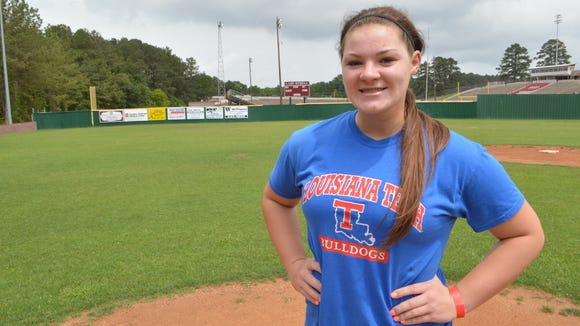 Louisiana Tech pitcher Bailey Allen was named to the Conference USA all-freshman team.