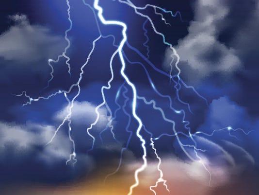 Lightning Background Illustration