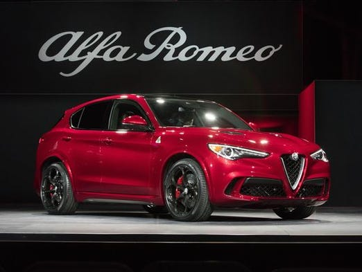 Alfa Romeo Stelvio -- Take the fire-breathing Giulia