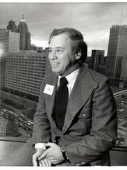 Architect John Portman in an undated photo.