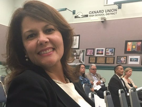 Penelope DeLeon, superintendent of the Oxnard Union