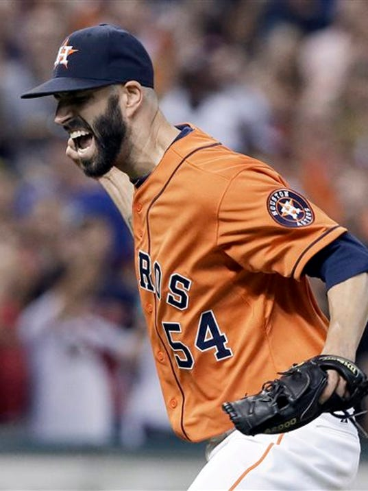 Houston Astros starting pitcher Mike Fiers threw a no-hitter against the Los Angeles Dodgers on Friday.