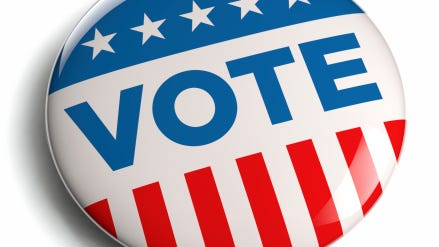 Absentee ballots will be available at some city locations leading up to the Feb. 17 primary election.