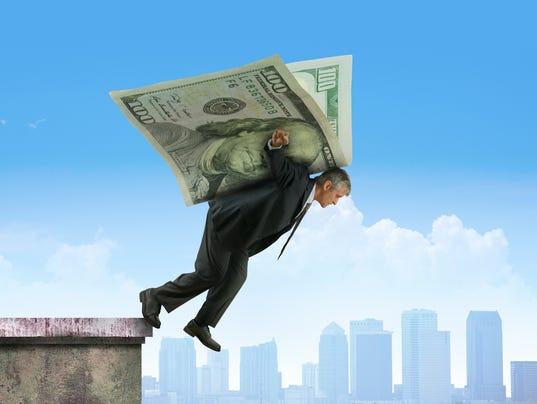Leaping off building on wings of money financial investments success