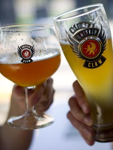 Beer lovers will be able to sample 20 Griffin Claw