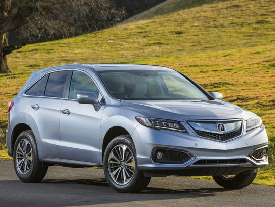 The 2017 Acura RDX, which ranks No. 9 in the Made in