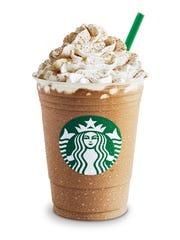 Starbucks Pumpkin Spice Frappuccino.