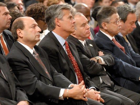 Thomas Libous, Dean Skelos, Thomas DiNapoli, Sheldon Silver, Ron Canestrari