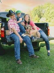 Katherine Janet Giehll, 31, her son Raymond Peter Giehll