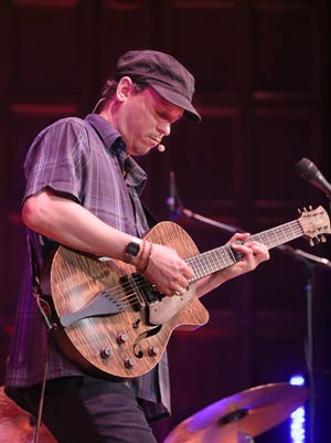 Kurt Rosenwinkel leads his quartet during their opening show at Kilbourn Hall on Day 8 of the Xerox Rochester International Jazz Festival on Friday.