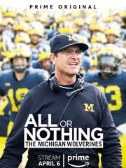 """Promotional photo for """"All or Nothing: The Michigan Wolverines."""""""