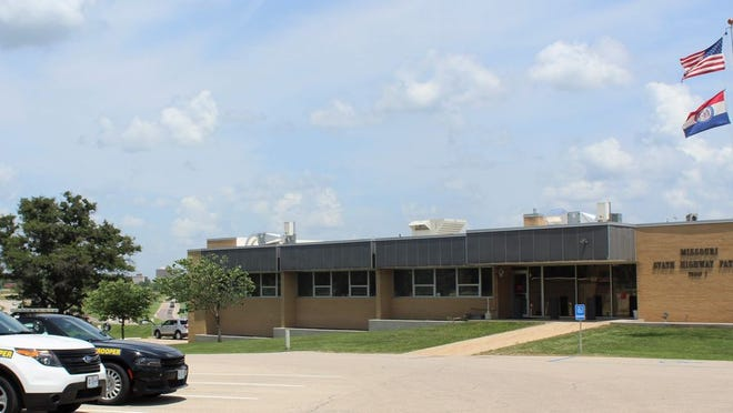 Missouri State Highway Patrol Troop I headquarters in Rolla.