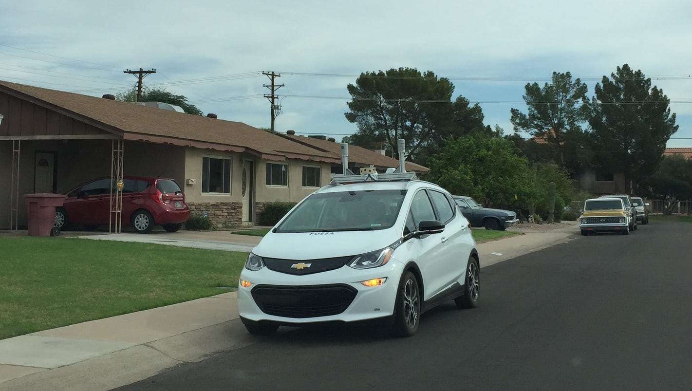 Gm Bolts Now Driving Themselves Around Scottsdale