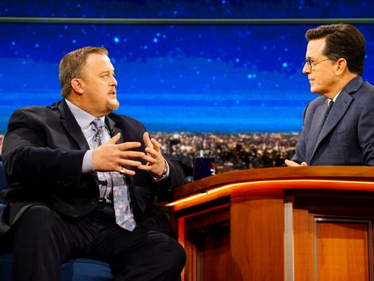 "Billy Gardell's talk-show resume includes ""The Late"
