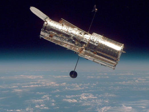 IN SPACE:  (FILE PHOTO)  In this handout from the National