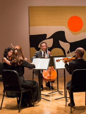 Naples Philharmonic musicians in a chamber concert in The Baker Museum.