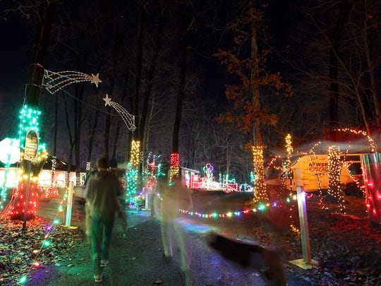 Christmas Magic at Rocky Ridge, Dec. 13 |  Springettsbury Township: Walk a half-mile trail lined with 600,000 lights, visit Santa, and view holiday scenes from 6 to 9 p.m. Monday through Friday, and 5 to 9 p.m. Saturday and Sunday, Nov. 25 through Dec. 31 at Rocky Ridge County Park, 400 Deininger Rd. Christmas Magic is closed Dec. 24 and 25. Admission is $8 for adults, $7 for seniors 59 and older, $6 for children 4 to 12, and free for children 3 and younger. Discount tickets are available. Call 717-840-7740 or visit yorkcountypa.gov for details.