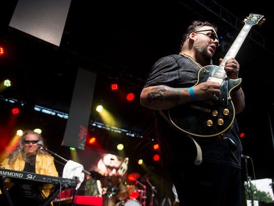 Gino Matteo, guitarist for Sugaray Rayford, has a solo