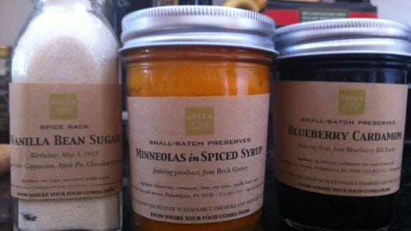 Green Aisle offers preserves, nut butters, compotes, sugars, spices and more. Tammy Paolino/Courier-Post
