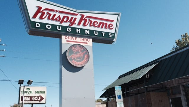 Krispy Kreme on Patton Avenue