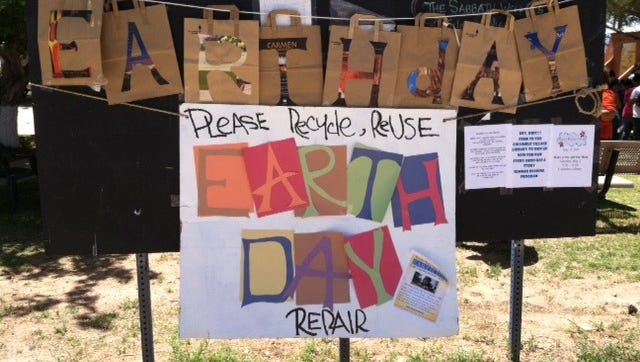 The Village of Columbus Chamber of Commerce is hosting its Earth Day celebration from 9 a.m. to 4 p.m. Friday in the village plaza.