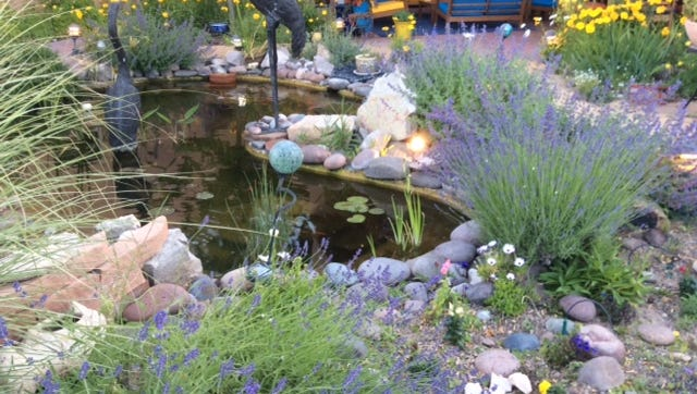 Creativity and color highlight this Las Cruces garden, part of the 21st Las Cruces Tour of Gardens.