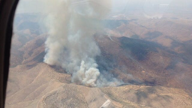 The Judd Fire has burned 4,300 near Bisbee as of June 10, 2018.