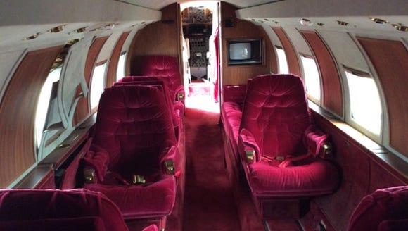 Built in, the Lockheed Jetstar L-1329 owned by Elvis