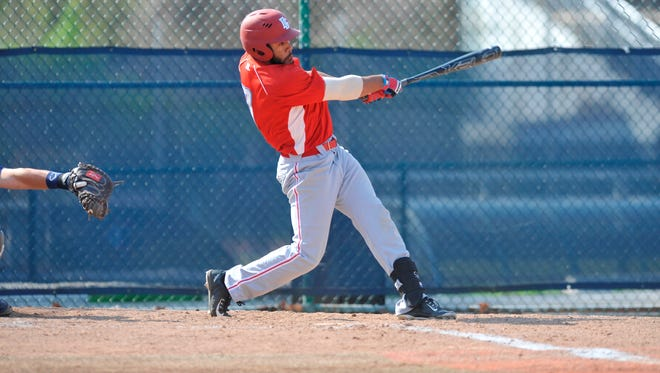 Delaware State's Austin Bentley had four hits and two RBIs, including a walk-off RBI single in the bottom of the ninth, as the Hornets defeated Norfolk State on Monday