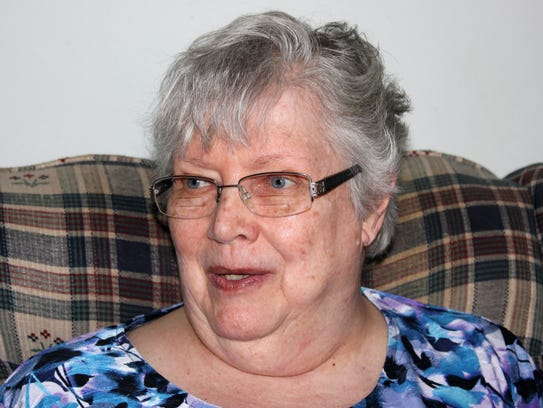 Joan Decker of Jenison said receiving financial help from Five Points of Hope was the answer to a prayer.