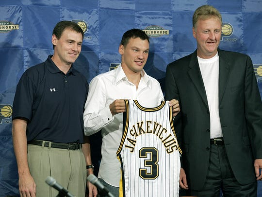 Jasikevicius Smiles didn't last long in Indiana.