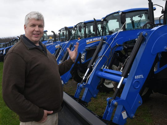 Cory Forrester is the owner of Forrester Farm Equipment