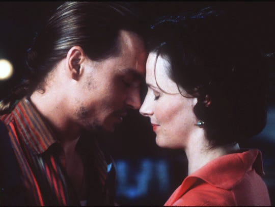 Johnny Depp and Juliette Binoche star in Miramax Films'