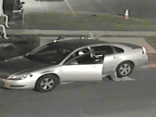 Police released an image of a car they believe is involved