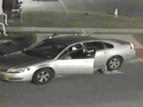 Police released an image of a car they believe is involved in the killing of 18-year-old Trevor McClements.