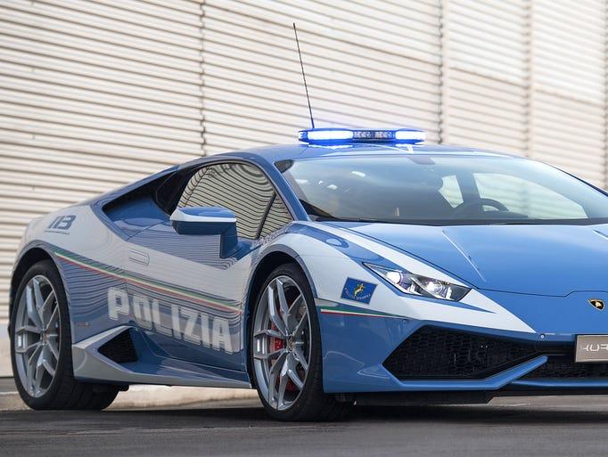 Automobili Lamborghini delivered a new Hurac‡n Polizia,