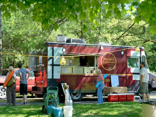 Food trucks from around the Valley, including Mama's