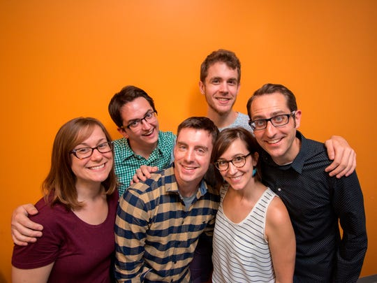 Improv troupe The Unmentionables begins a Valentine's Day night of laughs Tuesday at the Vermont Comedy Club.