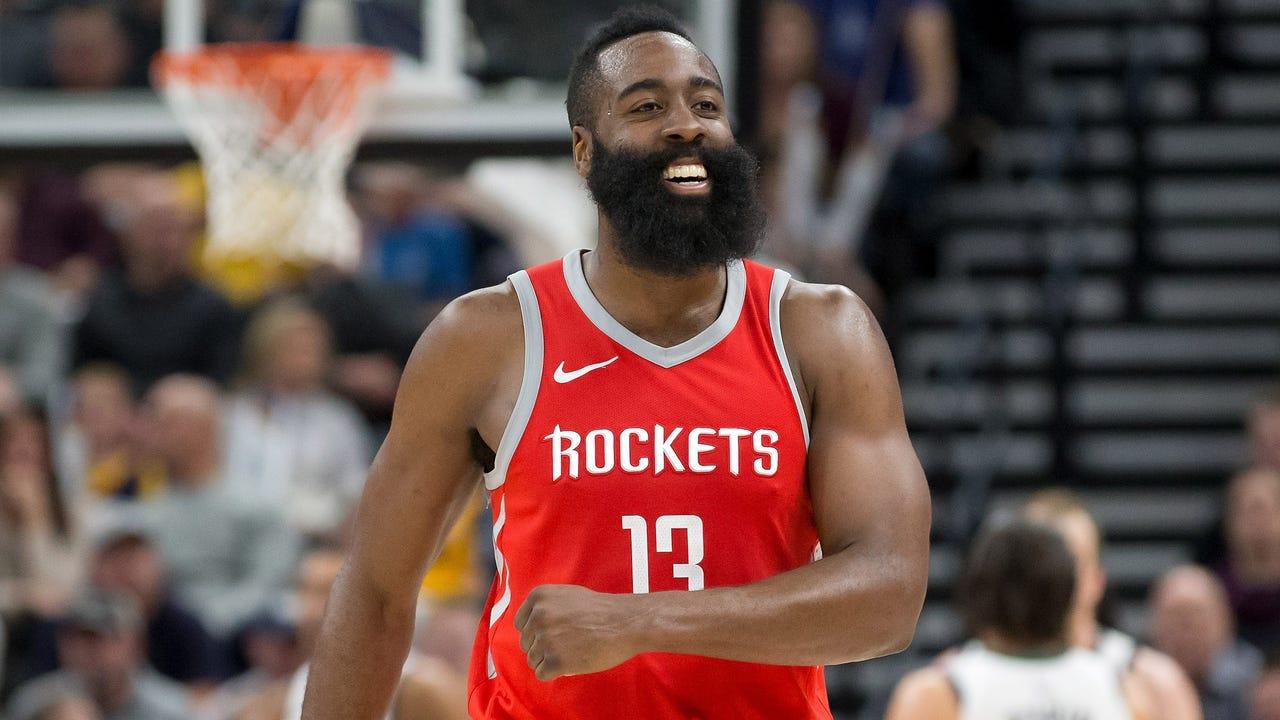 ba804f698d03 Houston Rockets star James Harden wins 2017-2018 NBA MVP