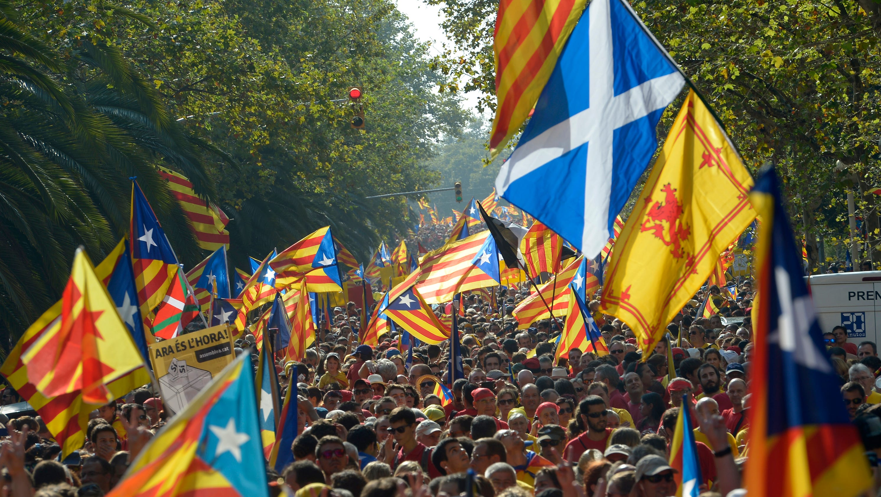 Secessionist movements learn lessons from scotland vote - Firefly barcelona ...