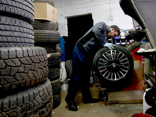 Veli Talybov, 48 of Oak Park and a tire technician,