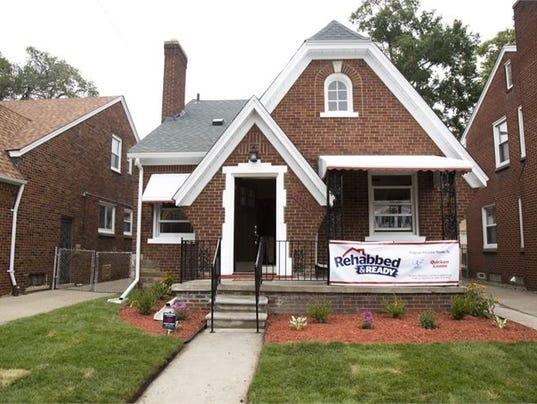 First Rehab Program House Sells For Minimum Bid In Detroit