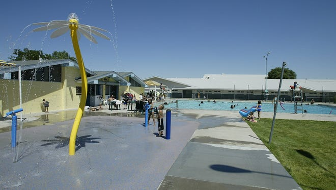 File photo from 2002 of Traner Pool.