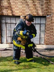 Firefighter Kevin Ramsey