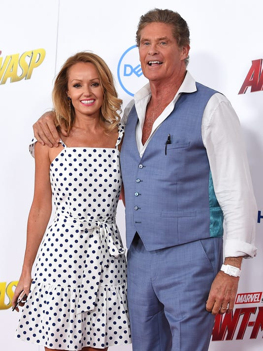 AP PEOPLE DAVID HASSELHOFF A ENT FILE USA CA