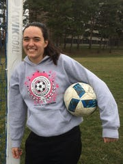 Green Bay Notre Dame senior Katelyn Morgan has played