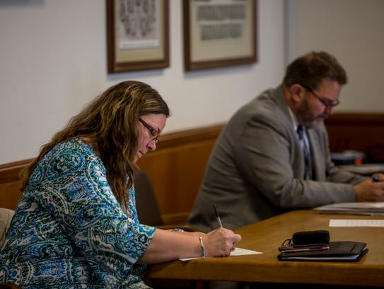 Christina Meyers, mental health court assistant with