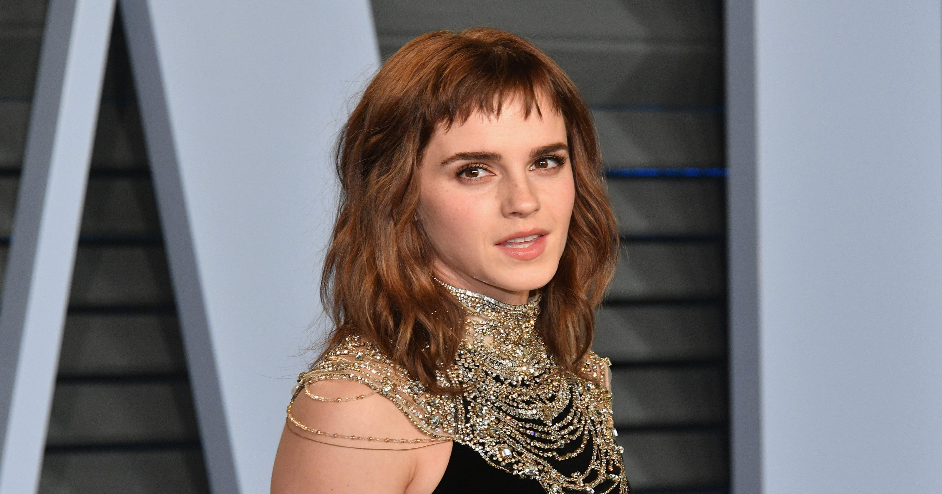6bd07a0f2d229 Emma Watson jokes about needing to proofread her  Time s Up  tattoo