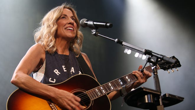 Sheryl Crow during the Rochester Jazz Festival. Crow visits Montana July 18.